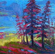 40 beautiful tree painting works