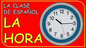 what time is it in spanish qué hora es youtube