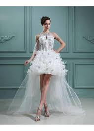 cocktail wedding dresses styles a line tulle beading cocktail wedding dresses