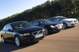 volvo c30 vs audi a3 volvo c30 2 0d v mercedes c220 cdi v audi a3 tdi auto express