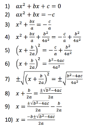 hs mathematics quadratic functions
