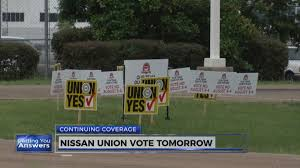 nissan frontier jackson ms nissan workers in mississippi vote on whether to unionize wjtv