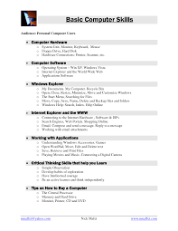 Critical Thinking Skills Resume How To Write A Paralegal Resume No Experience Good Vocabulary