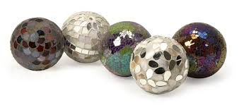 Decorative Spheres For Bowls Abbot Mosaic Decorative Balls Ivg Holle Stewart Design