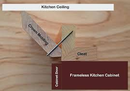 how to add crown molding to kitchen cabinets crown molding kitchen ideas docomomoga