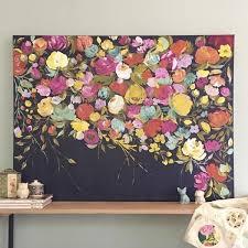 best 25 flower painting canvas ideas on pinterest acrylic