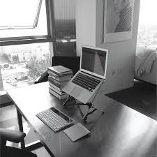 Laptop Desk Setup The Minimal Desk Experiment Malan