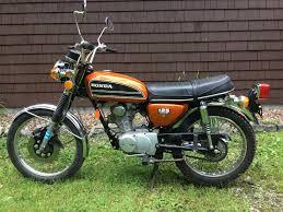 honda cb 125 1974 honda cb125 5100 miles a true time capsule rennlist