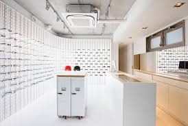 Shop In Shop Interior Designs by Mykita About A Modern Manufactory Shop Concept