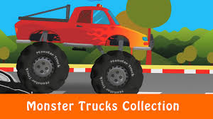 monster truck video games free monster trucks collection kids games videos for children