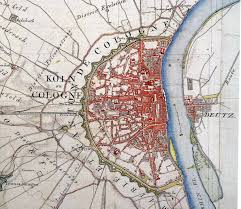 Cologne Germany Map by A Brief History Of Roman Architecture In Cologne