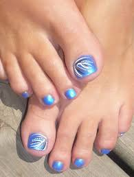 blue toe nail designs business card size net