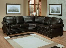 Sectional Sofa Small by Gorgeous Small Sectional Leather Sofa Brown Leather Sectional