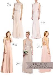 blush bridesmaid dress subtle and sweet blush bridesmaids dresses wedding weddings