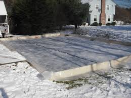 Build A Backyard Ice Rink Claypool Ice Rink