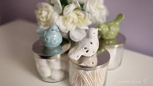 diy repurposed candle jar storage u2013 ann le style