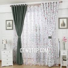 Green And White Curtains Decor Impressive White And Green Curtains Inspiration With Best 10 Green