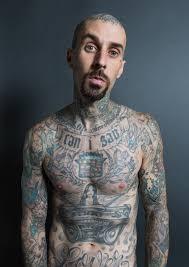 Tato Meme - travis barker talks tattoos and pain gq