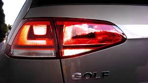 vw led tail lights volkswagen golf vii 1 4 tsi 122 bhp non led rear lights tail