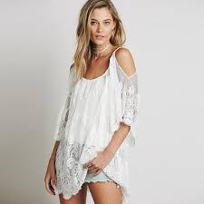 aliexpress com buy 2017 women beach dress strap sheer