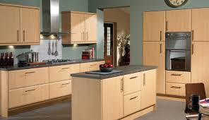 beech kitchen cabinet doors slab saponetta beech kitchen collection vinyl wrapped kitchens
