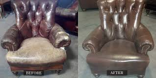 Sofa Recliner Repair by Before And After Gallery Leather Medic
