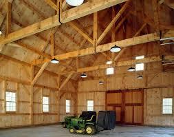 houses and barns king post barn