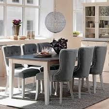 Extending Dining Table Scandinavian Dining Set Modish Living - Distressed white kitchen table