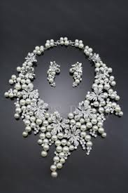 pearls necklace sets images Ring pearl jewelry set beautiful pearl wedding ring sets pomposo jpg