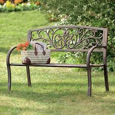 Outdoor Benche - nice outdoor wrought iron bench outdoor benches youll love wayfair