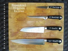 what are kitchen knives techniques knife skills