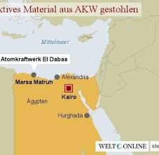 Alexandria On A Map El Dabaa Radioaktives Material Aus ägyptischem Akw Gestohlen Welt