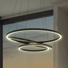 circular pendant light home lighting design