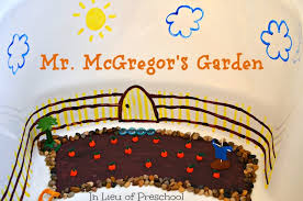 mr mcgregor s garden rabbit rabbit small world book play in lieu of preschool