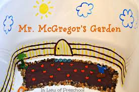 mr mcgregor s garden rabbit rabbit small world book play in lieu of preschool