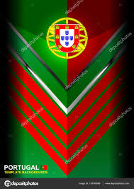 What Are The Colors Of The Portuguese Flag Portugal Flag Color Background U2014 Stock Vector Ijaydesign99