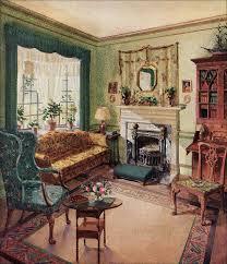 1920s home interiors 1929 living room karpen furniture living rooms room and vintage