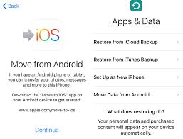icloud backup for android how to set up a new iphone macworld uk