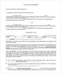 basic agreement form samples 27 free documents in word