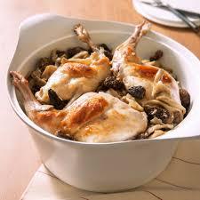 recette cuisine lapin cuisses de lapin na au vin jaune safrané fricassée de