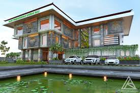 architecture balinese style house designs natural home plans