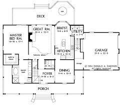 Donald Gardner Floor Plans Country Style House Plan 4 Beds 2 50 Baths 2164 Sq Ft Plan 929 215