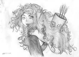 easy pencil drawings of disney princesses