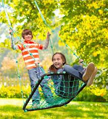 deluxe platform swing backyard swings hearthsong