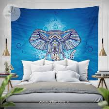 bohemian tapestry elephant wall tapestry hippie tapestry wall