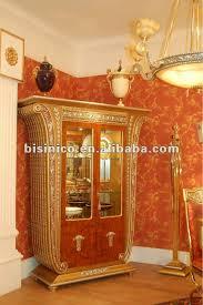 Showcase Glass Cabinet Luxury U0026 Classical Living Room 2 Doors Display Caibnet Showcase