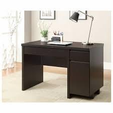 Corner Desks With Storage Small Corner Desk With Storage Minimalist Brown Stained Hardwood