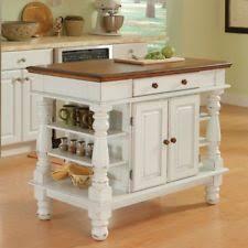 kitchen island antique home styles americana antiqued white kitchen island ebay