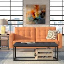 Orange Sleeper Sofa Orange Sleeper Sofas You U0027ll Love Wayfair Ca