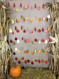 halloween baby shower decorating ideas diy fall photo booth backdrop for halloween or thanksgiving fall
